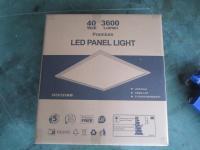 panneau LED ultra-éclairé 60x60 à rétroéclairage de 40 W avec 3800 lumens